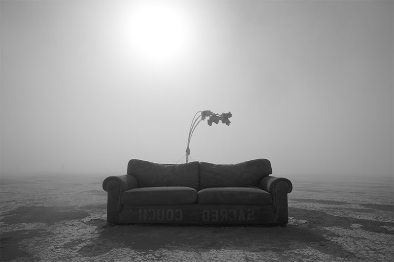 Sacred Couch from the series Lost and Found by Peikwen Cheng