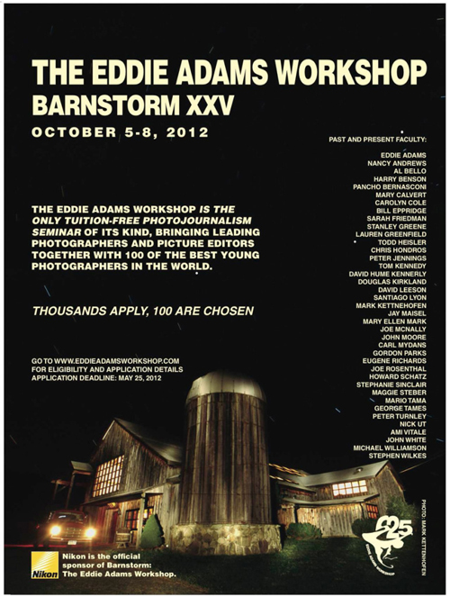 Eddie Adams Workshop Barnstorm XXV