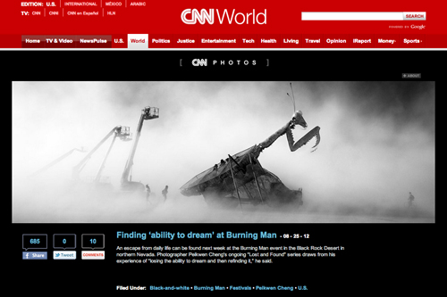 Finding Ability to Dream at Burning Man by Peikwen Cheng on CNN photos