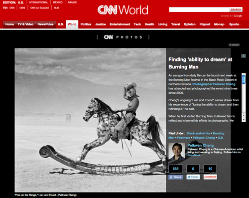 Finding Ability to Dream at Burning Man - Feature - CNN Photos