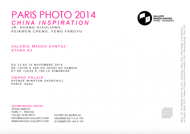 Galerie Magda Danysz - Booth B3 at Paris Photo 2014