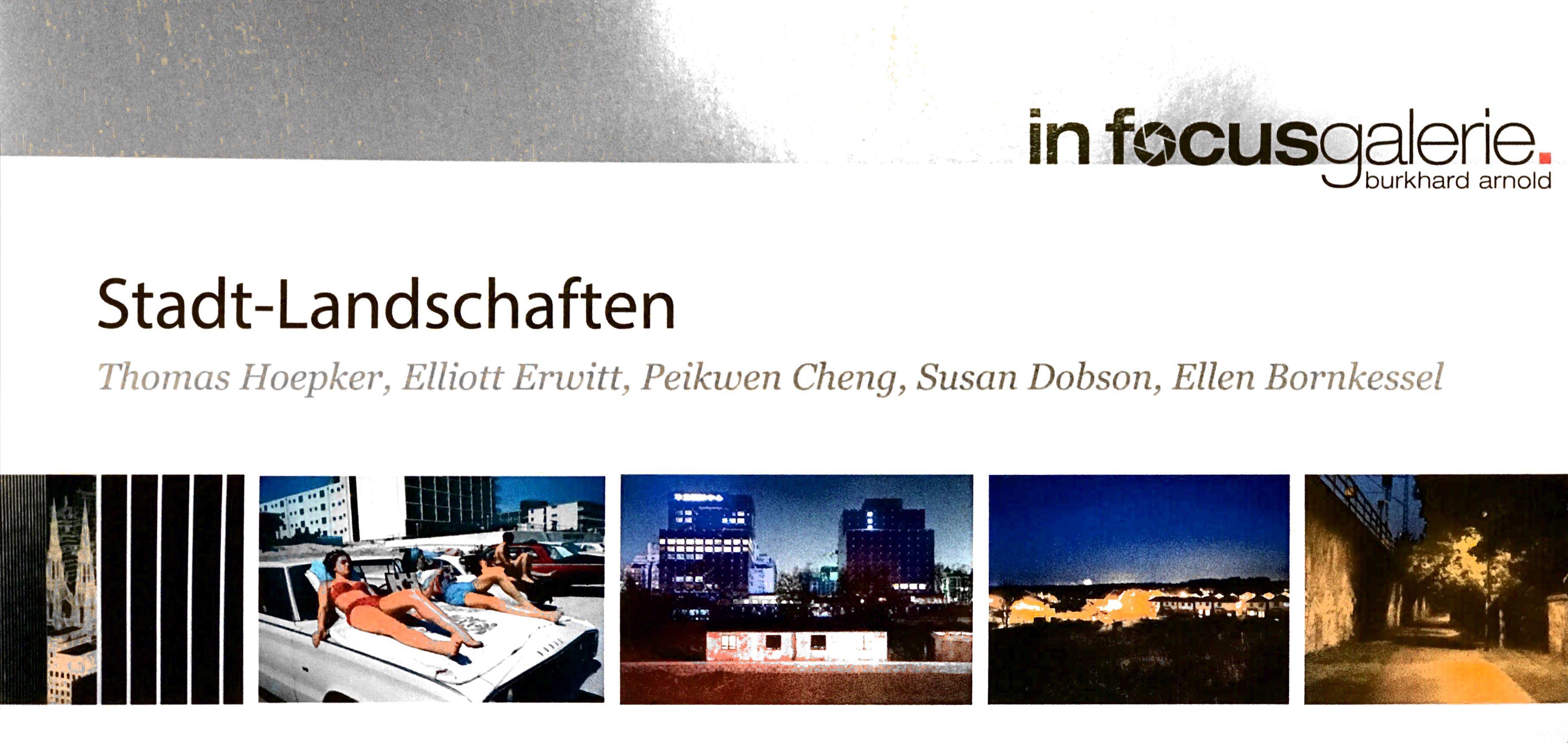 City Landscapes at In Focus Galerie Mailer 1